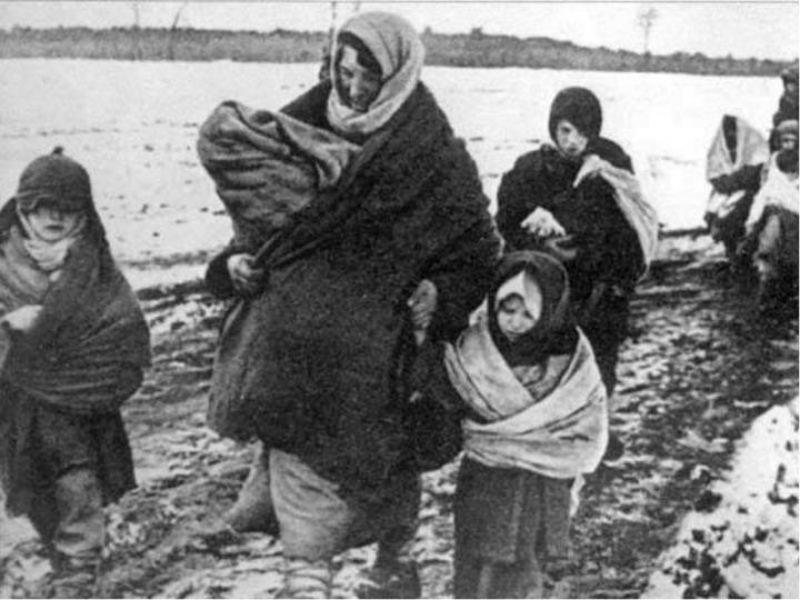 2 Kasım 1943'de başlanan sürgünde 68,614 Karaçay Türkü Kazakistan ve Kırgızistan'a sürüldü.