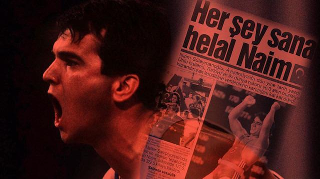 46 kez dünya rekoru kıran Türk halterci Naim Süleymanoğlu'nun gurur dolu hikayesi!