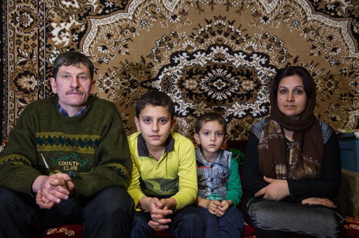Yuri Stepanov eşi ve iki oğluyla birlikte Başkurdistan'da Priyetovo köyünde yaşıyor.
