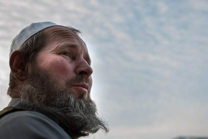 Taksi şoförü olarak çalışan Aleksandr Levenetes Afganistan'daki hayatından memnun.