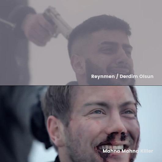 Reymen'in rekor kıran şarkısının klibi çalıntı çıktı