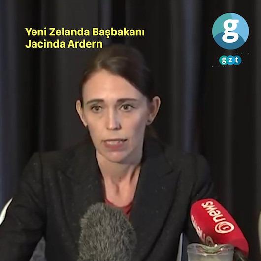 Yeni Zelanda Başbakanı'ndan saldırılara ilişkin açıklama