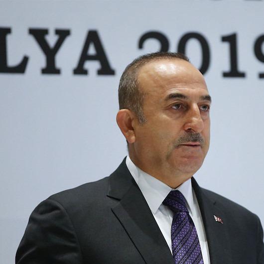Sözde Ermeni Soykırımı'na Çavuşoğlu'ndan tarihi cevap: Fransız temsilci salonu terk etti