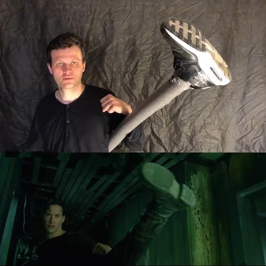 Aşırı düşük bütçeli 'The Matrix' yapımı