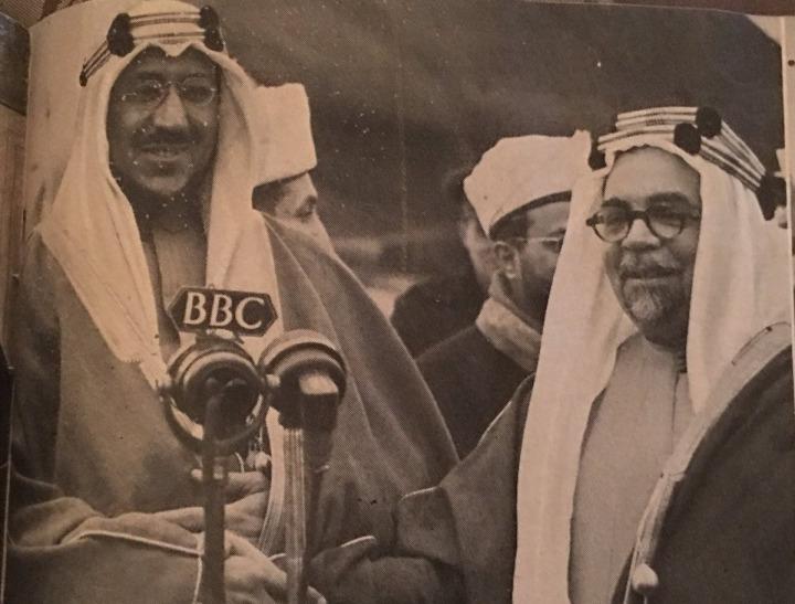 Hafiz Wahba. (sağda)