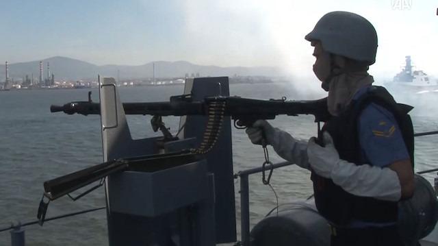 Denizkurdu-2019 Tatbikatı başladı