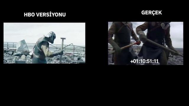 Efsane dizi Chernobyl'in sahne sahne gerçek görüntülerle karşılaştırması