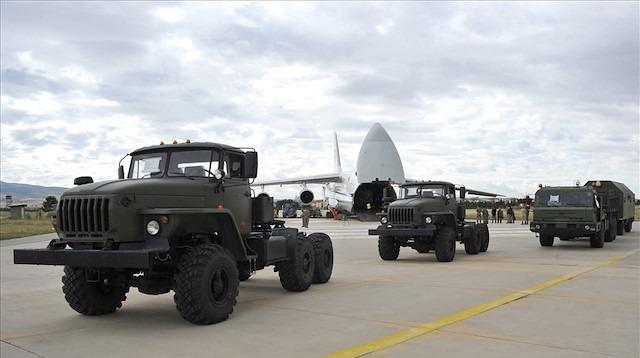 Rusya Savunma Bakanlığı, S400 sevkiyatının videosunu yayınladı