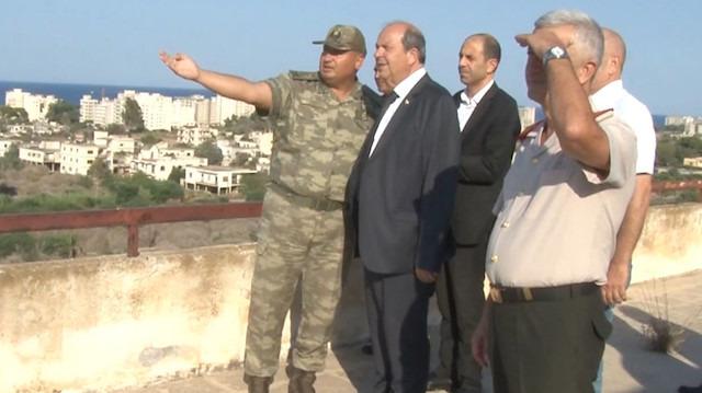 KKTC Başbakanı 'hayalet şehir' Maraş'ta