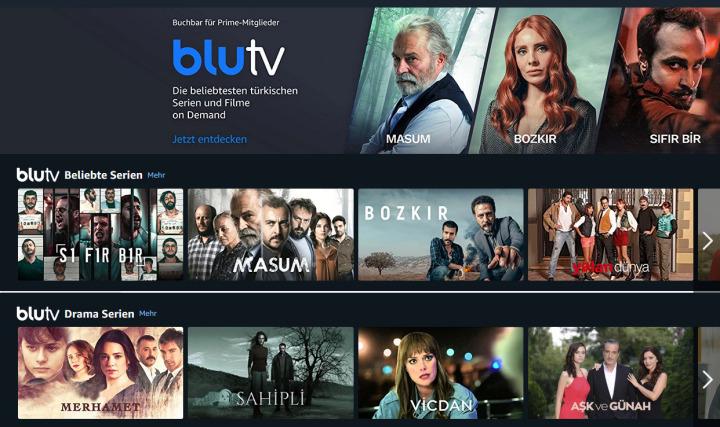 Doğan Yayın Grubu'na ait dijital yayın platformu, BluTV