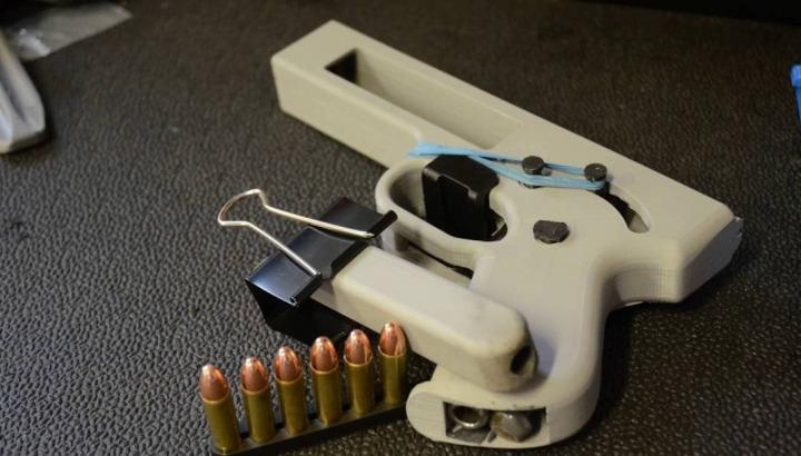 Üç boyutlu yazıcılarla ilgili en çok merak edilen konulardan biri silah basmak.