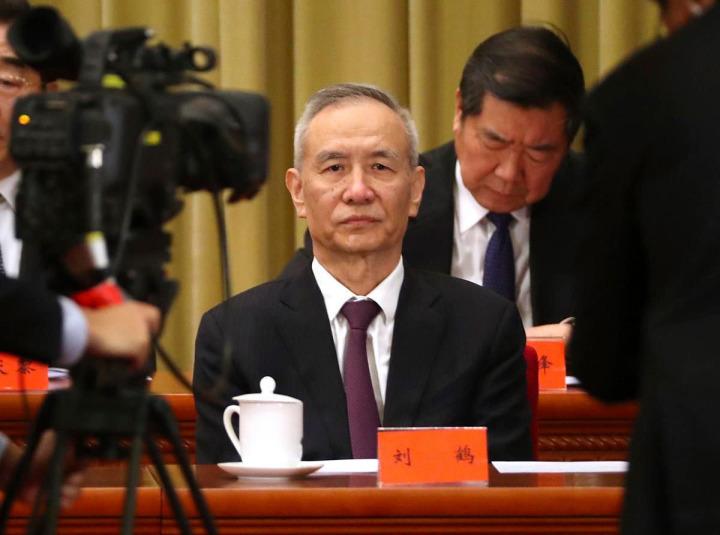 Çin'in başmüzakerecisi Başbakan Yardımcısı Liu Hı
