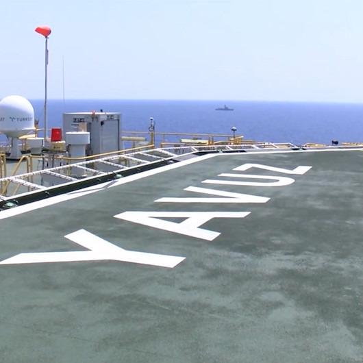 'Yavuz' Doğu Akdeniz'de 1.710 metre derinliğe ulaştı