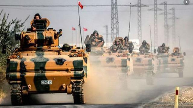 Esed rejiminden, TSK konvoyuna hava saldırısı