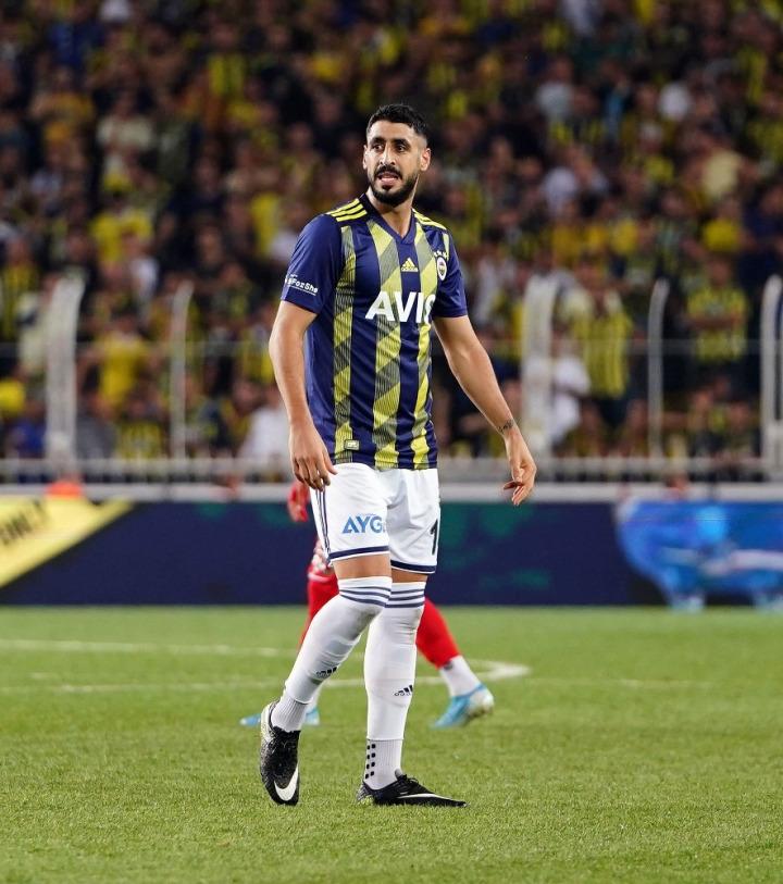 Tolga Ciğerci, Fenerbahçe formasıyla.