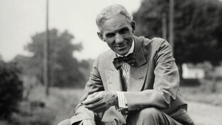 Henry Ford, elektrikli otomobil kavramının öncüleri arasında yer alıyor.