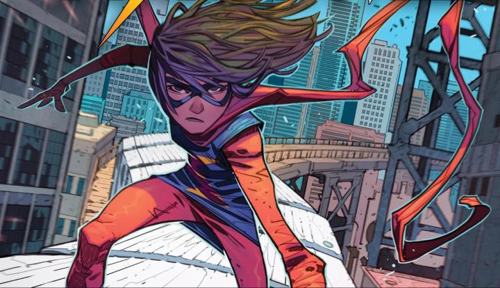 Ms. Marvel, Pakistanlı bir genç kurgusal karakter