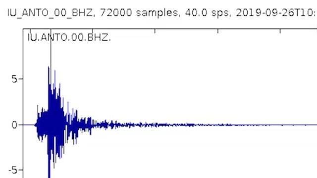 İşte İstanbul depreminin 'sesi'