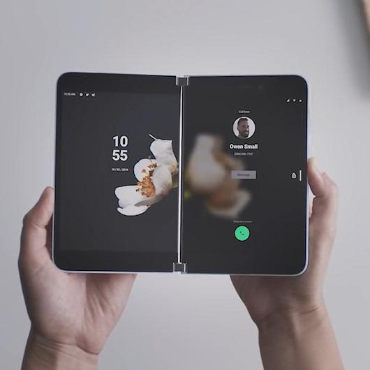 Microsoft'dan katlanabilir akıllı telefon: Surface Duo