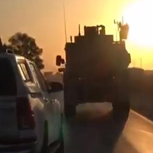 ABD askerleri çekilmeye başladı: Sınırdan ilk görüntüler