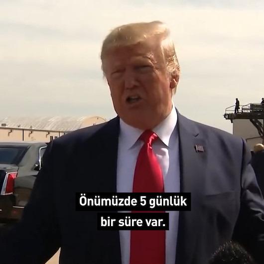 Trump'tan Erdoğan'a teşekkür üstüne teşekkür