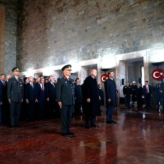Atatürk'ün ebediyete intikalinin 81'inci yılı