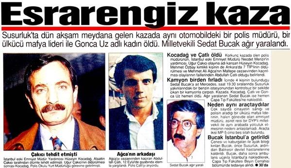 3 Kasım Susurluk Kazası: Devlet - Mafya - Siyaset ilişkisi