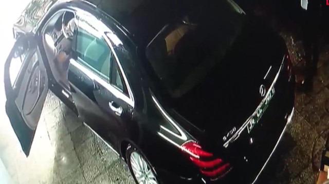 Suudi Başkonsolosluğu'na ait araçlar oto yıkamacıda görüntülendi
