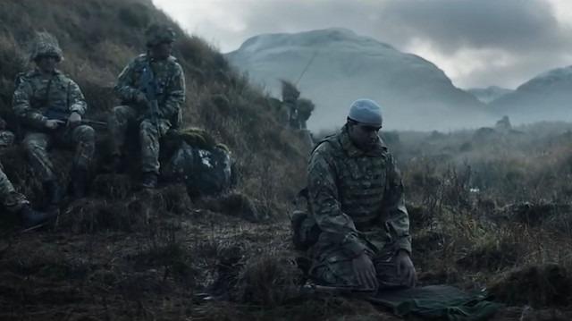 İngiltere'nin Müslüman asker katılımını artırmak için çektiği reklam filmi