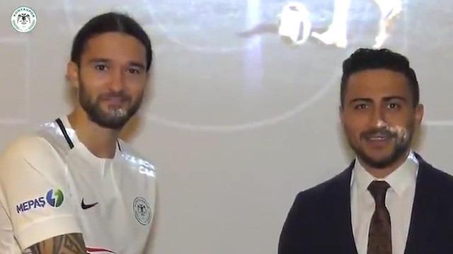 Atiker Konyaspor, Leonard Zuta transferini Bandersnatch temasıyla duyurdu