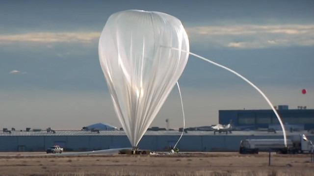 Veri toplaması için stratosfere gönderilen devasa balon
