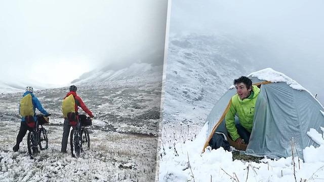 Dağ bisikletleriyle Moğolistan'ın en batısına yolculuk