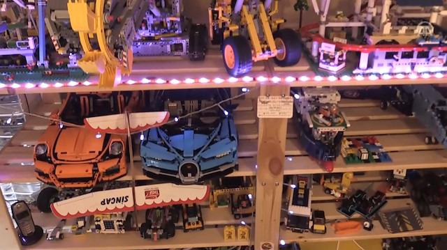 'Legoların Efendisi' eve sığmıyor
