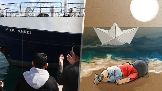 İnsani yardım gemisine 'Alan Kurdi'nin ismi verildi