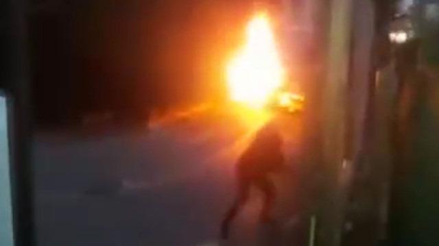 Kahreden olay: Helikopter kazasıyla ilgili görüntüler