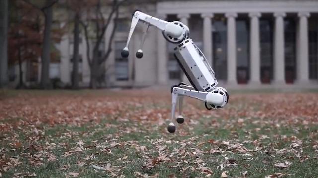 MIT'in ters takla atan robotu: Mini Cheetah