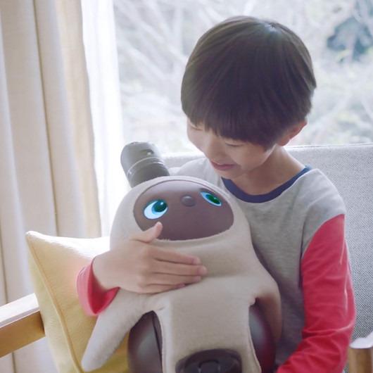 İnsanlarla dostluk kurabilen robot: Lovot