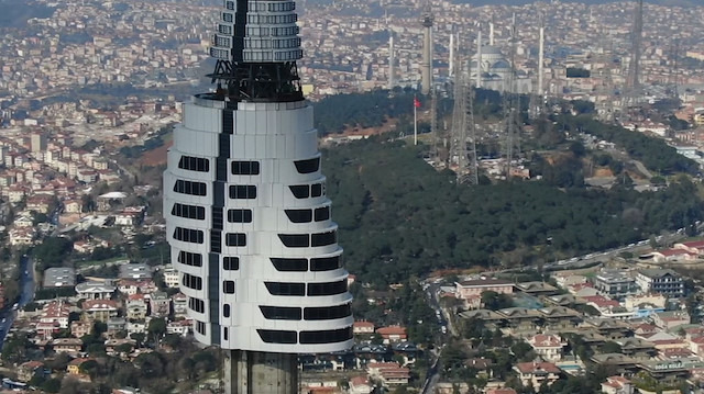 Çamlıca Televizyon Kulesi yapımında sona gelindi