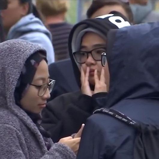 Yeni Zelandalılar terör saldırısında hayatını kaybedenleri andı