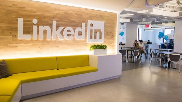 LinkedIn'in New York'taki ofisine yakından bakıyoruz