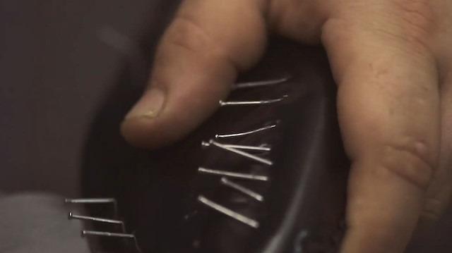 'Handmade' deri ayakkabılar nasıl yapılıyor?