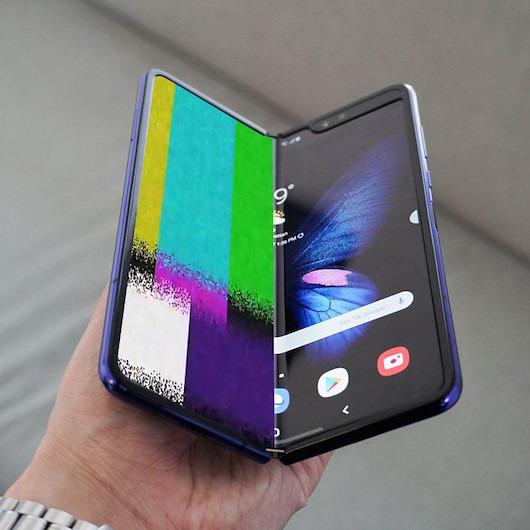 Samsung Galaxy Fold ekranlarında problem çıktı