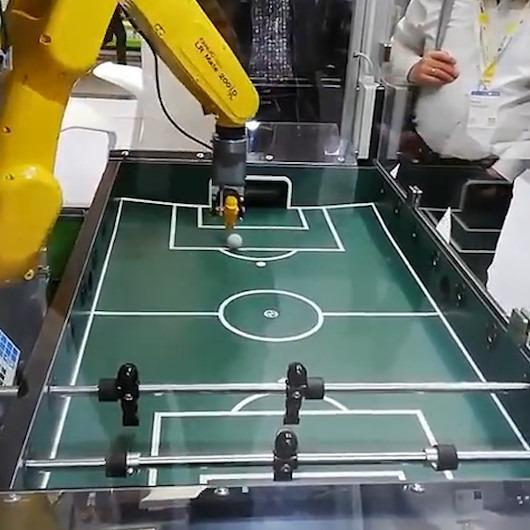 Langırt meraklılarına meydan okuyan robot