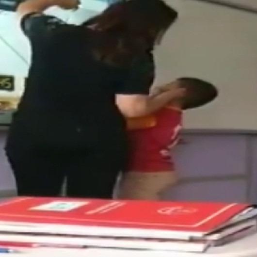 İlkokul öğrencisini soruyu bilemediği için darp eden öğretmene tepkiler çığ gibi büyüdü