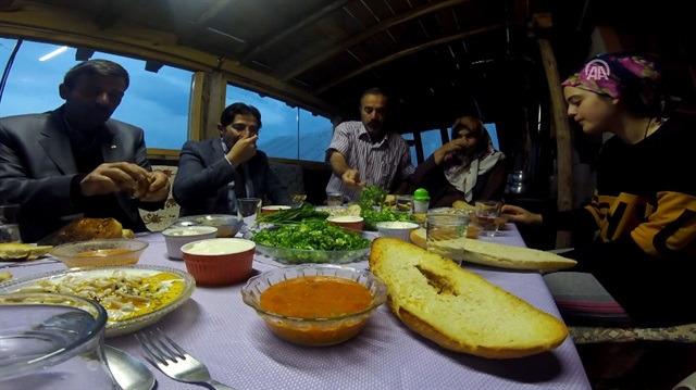 1,800 rakımlı yaylada Ramazan böyle geçiyor