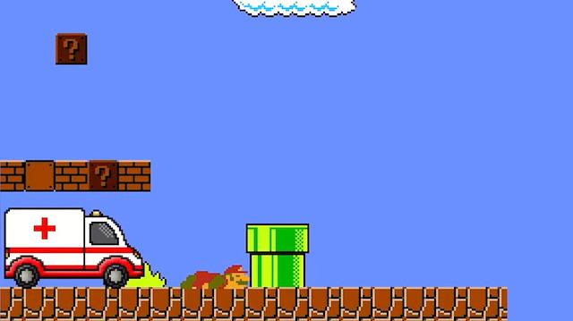 Super Mario'yu hiç böyle izlemediniz!