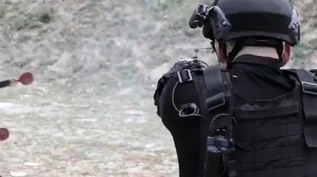 Jandarma'dan muhteşem 'atış' videosu: Attık, vurduk, övündük!