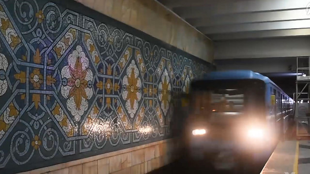 Orta Asya'nın ilk metrosu
