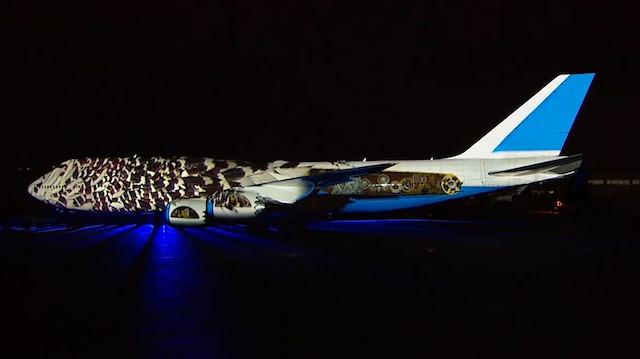 Boeing firmasının 100. yılı anısına yapılan muhteşem gösteri