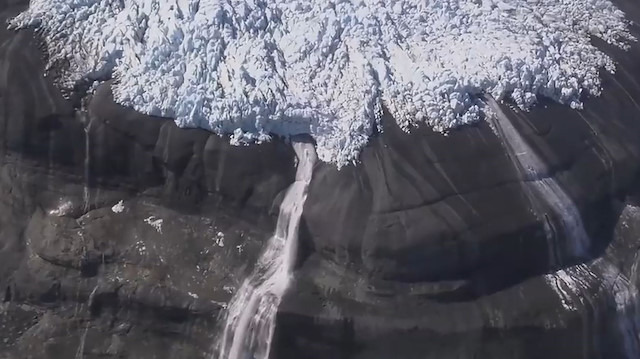 Nasa tarafından görüntülenen büyüleyici 'buz nehirleri'
